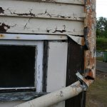 Rusted Downpipes