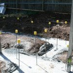 Footings Poured